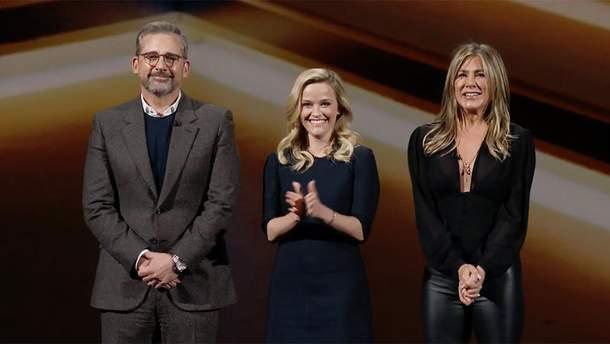 "Кадр з презентації ""Ранкове шоу"" на Apple TV+"