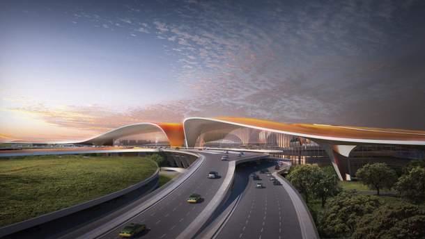 Аеропорт Пекін Дасін претендує на звання найбільшого у світі