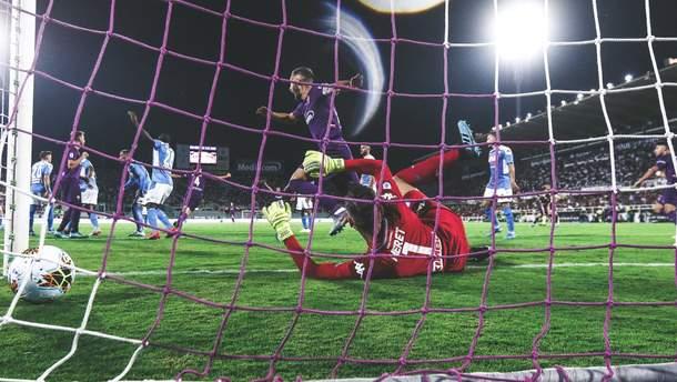 """""""Фіорентина"""" та """"Наполі"""" видали неймовірний матч, забивши сім голів: відео"""