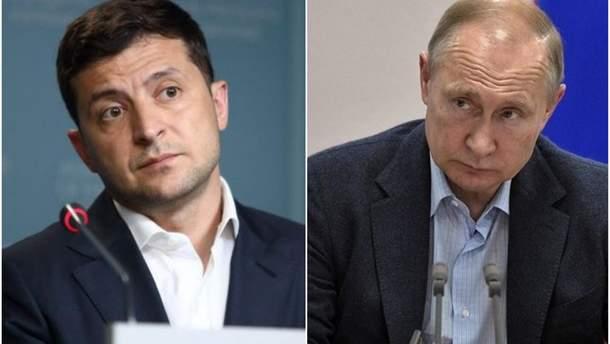 В Кремле прокомментировали возможную встречу Путина и Зеленского