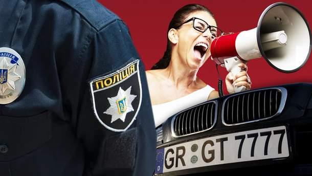 """Закон о """"евробляхах"""" начинает действовать: как будут штрафовать водителей"""