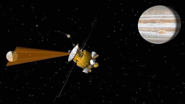 NASA запускает миссию на спутник Юпитера