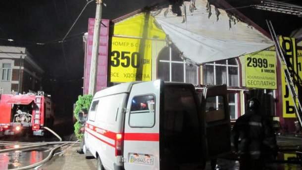 """Пожежа в готелі """"Токіо Стар"""" в Одесі спалахнула в ніч на 17 серпня"""