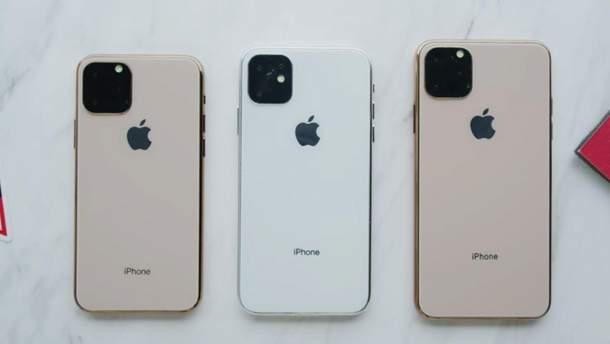 Apple представит три новые модели iPhone
