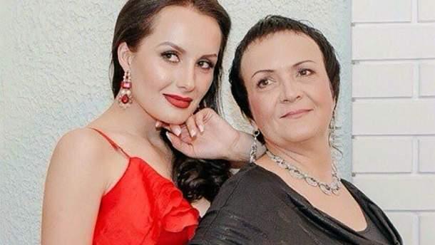 Юлія Зайкова та її матір Надія Головач