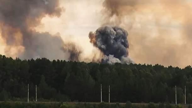 Взрыв и радиация под Архангельском