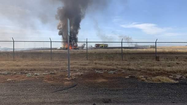 Авария самолета в Калифорнии