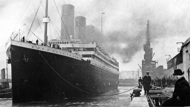 """""""Титанік"""" у 1912 році"""