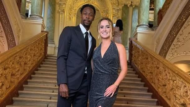 Світоліна і Монфіс побували на вечірці в Нью-Йорку та зіграли у віртуальний теніс: відео
