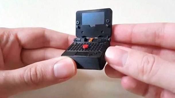 Фанат Lenovo створив мініатюрну копію ноутбука ThinkPad: фото