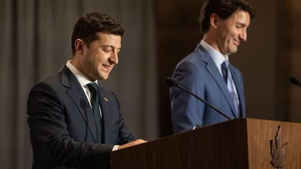 Зеленский и Трюдо обсудили G7 и Россию