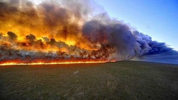 Пожежі у Бразилії посилюються