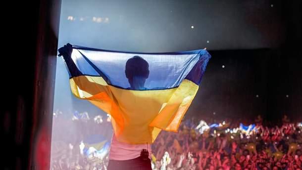 День прапора 2019: як зірки вітають українців