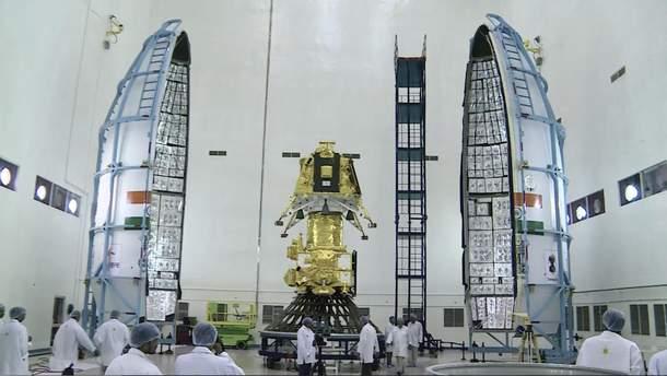 Индийский аппарат Chandrayaan-2