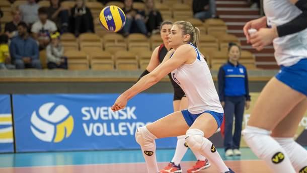 Сборная Украины с поражения начала чемпионат Европы по волейболу