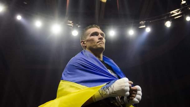 Усик заткнул российского провокатора, который решил подшутить над Днем флага Украины