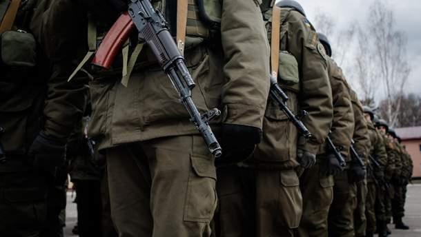 С 2020 года подразделения Нацгвардии по охране общественного порядка выведут с Донбасса