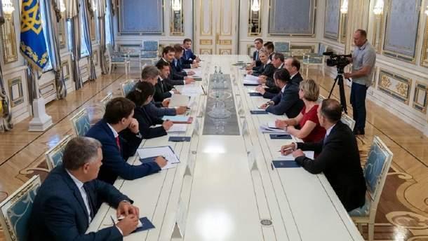 Встреча Владимира Зеленского и делегации Всемирного банка