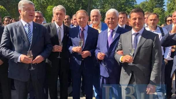 Украинские президенты вместе на праздновании Дня Независимости