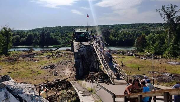 Міст біля Станиці Луганської