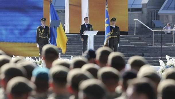 Во время торжеств ко Дню Независимости в Киеве задержали трех нарушителей
