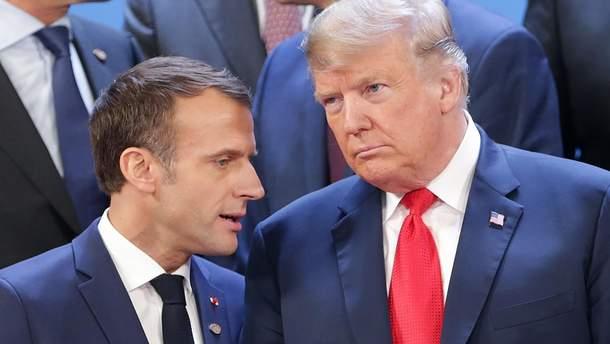 Макрон и Трамп поговорят об Украине на саммите G7