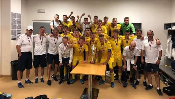 Збірна України з футболу U-18