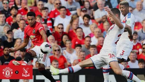 """""""Манчестер Юнайтед"""" зазнав неочікуваної поразки від """"Крістал Пелас"""": відео"""