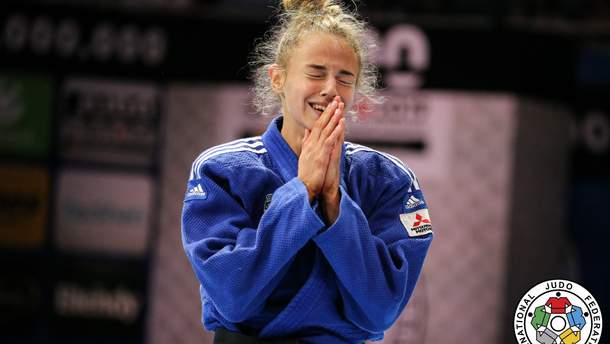 Дарія Білодід – чемпіонка світу з дзюдо