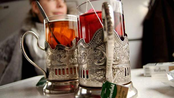 В українських поїздах часто крадуть посуд
