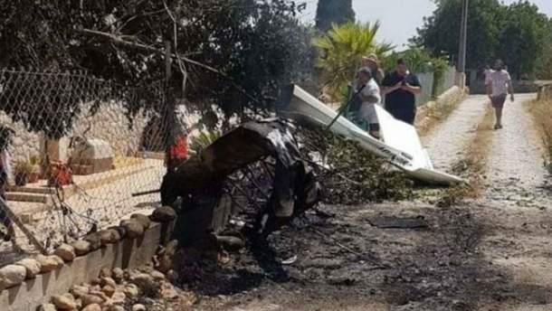 Авиакатастрофа в Испании