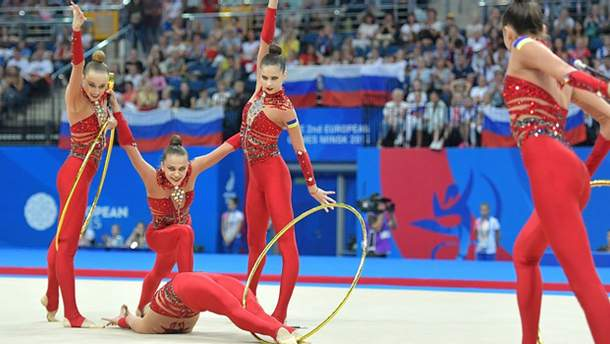 Украинские гимнастки выиграли три золота и бронзу на Кубке мирового вызова