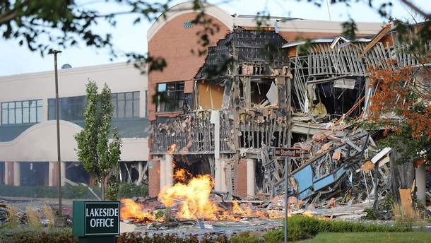 Очередной инцидент со взрывом газа в США