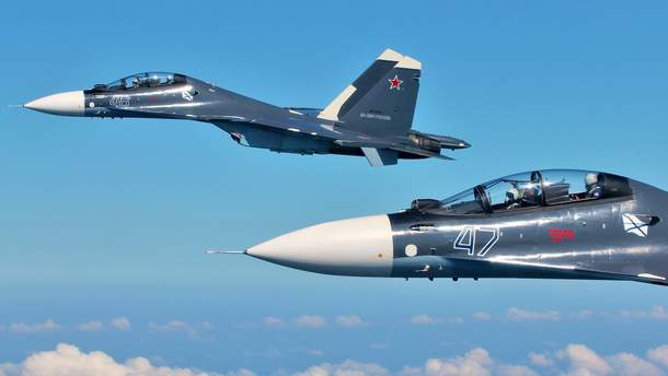 Окупанти провели над Кримом навчально-бойові пуски ракет