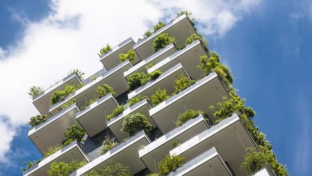 """""""Зелені"""" хмарочоси стають новим трендом у житловому будівництві"""
