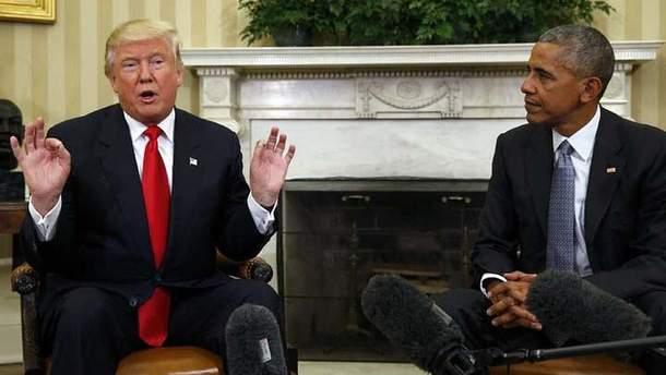 """Трамп """"обвинил"""" Обаму в аннексии Крыма"""