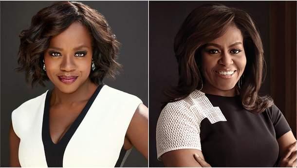 """Віола Девіс зіграє Мішель Обаму у серіалі """"Перші леді"""""""