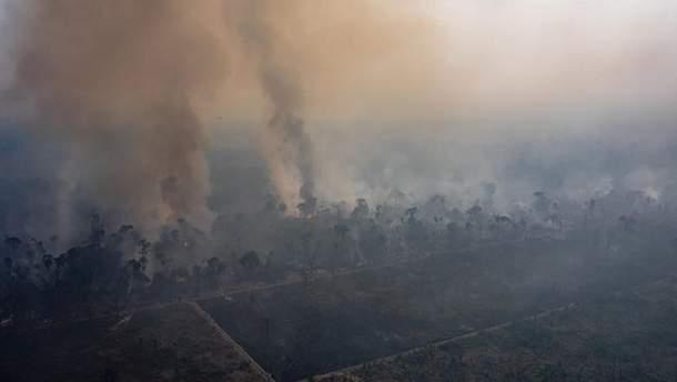 Пожежі в Бразилії