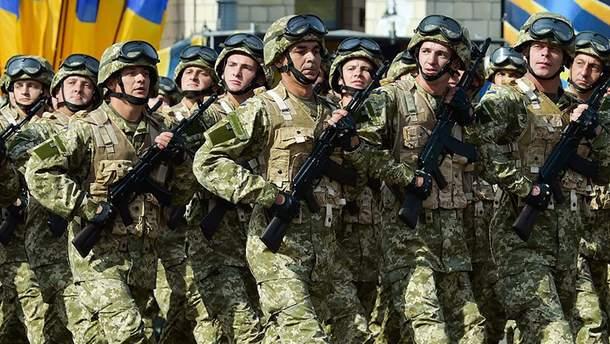 Украина не перейдет на контрактную армию