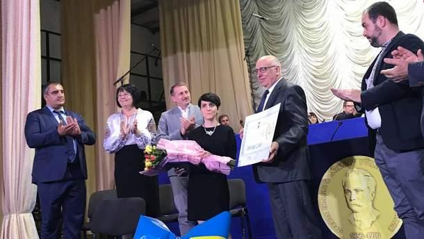 Международную премию им. Ивана Франко вручили на родине Великого Каменяра