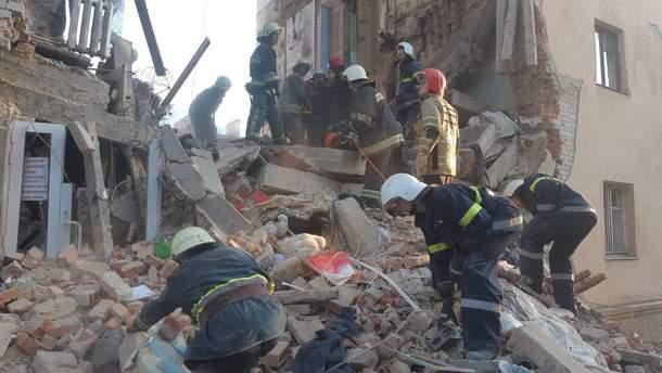 Взрыв дома в Дрогобыче – взрыв газа уничтожил часть дома: фото