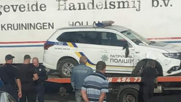 Аварія на Мерев'яньскому шосе
