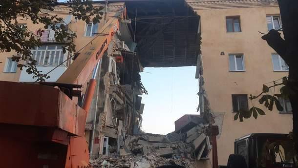 Взрыв в Дрогобыче 28 августа 2019 – фото, видео с места взрыва дома