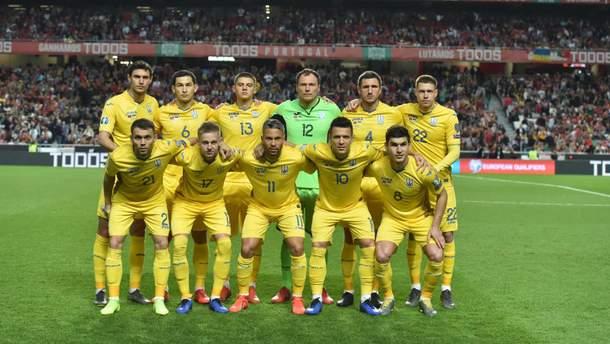 Збірна України з футболу