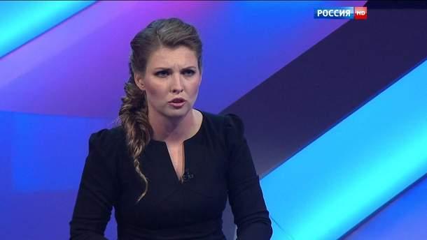 Пропагандистка Скабеева вышла из себя – почти буквально