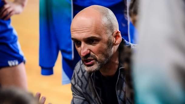 Срджан Радулович очолив збірну України з баскетболу