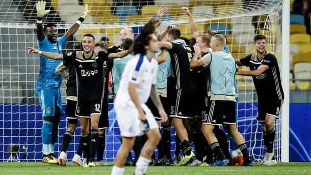 """В УЄФА нагадали, як """"Аякс"""" вибив """"Динамо"""" з Ліги чемпіонів"""