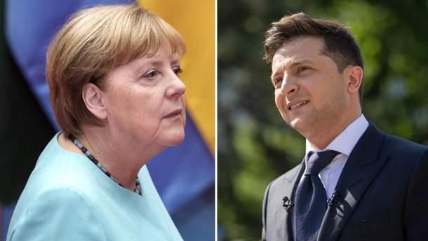 Меркель и Зеленский поговорили по телефону