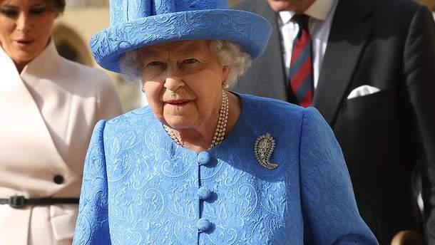 Королева Елизавета II приостановила работу парламента Великобритании