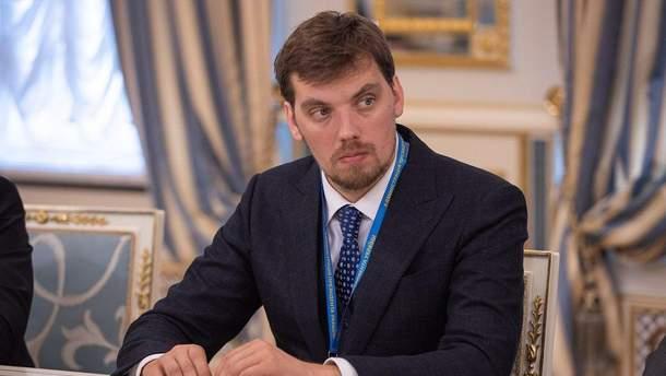 """""""Слуга народа"""" рассматривает только кандидатуру Гончарука на пост премьера"""